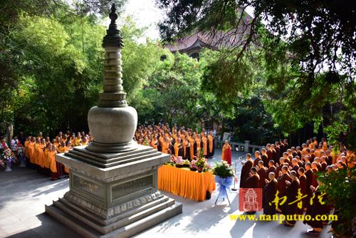 南普陀寺、闽南佛学院举行妙湛老和尚圆寂23周年追思法会