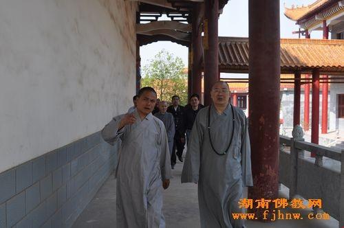 2011年4月19日上午中国佛教协会副会长、湖南省佛教协会...