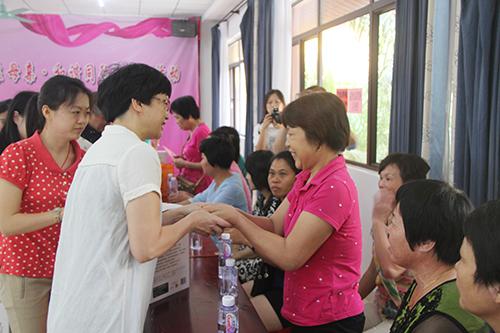 仪式由海沧区副区长欧阳丽娟主持