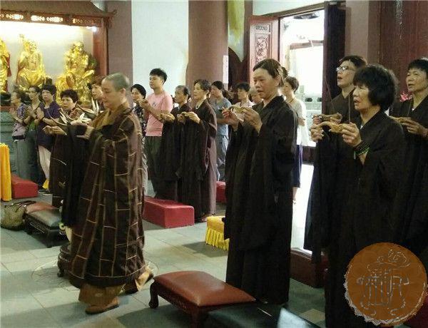 进明寺举行观音菩萨出家日吉祥祈福法会