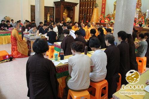 太平岩寺隆重启建丙申年地藏七共修法会