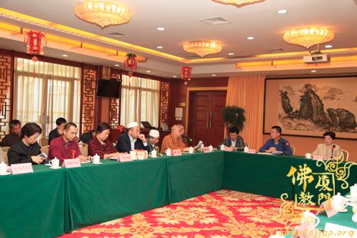 厦门市佛教协会与市管相关寺院负责人参加市民宗局召…