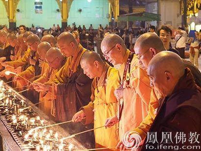 两岸南北传佛教融合交流 首访缅甸为世界和平做贡献