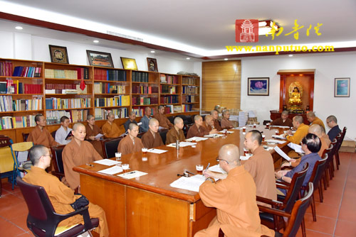 闽南佛学院召开2017年上学期第三次院务会议
