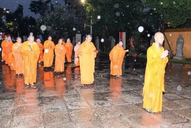 甘露细雨,涤尽心尘,父亲节三步一拜感恩朝山礼佛活动圆满举行