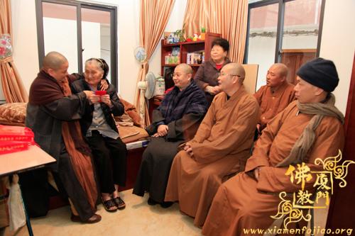 厦门市佛教协会会长则悟大和尚一行走访看望慰问相关…