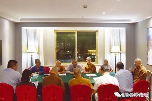 福建省佛教协会:则悟法师、向愿法师赴莆田看望第五届世界佛教论坛省、市佛协工作组人员