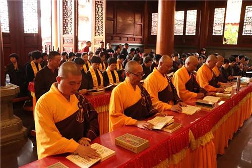 梵天禅寺水陆盛会第一天 | 外坛各坛佛事如法启建