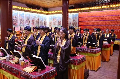 梵天禅寺·第七届水陆普度盛会第二日-内坛结界