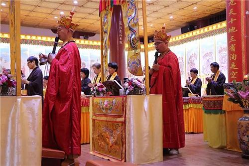 梵天禅寺·第七届水陆普度法会第二、三日盛况