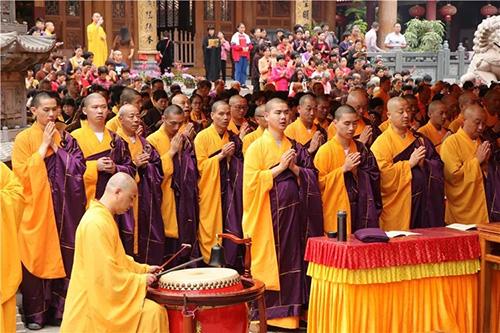梵天禅寺水陸盛会第六日 |祈福斋天、圆满焰口等佛…