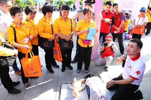 南普陀义工亮相第三届思明区志愿服务文化节
