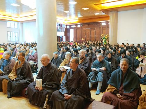 厦门净莲寺隆重举行为期七天的讲经法会