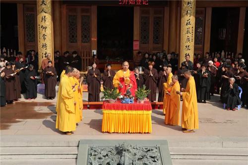 梵天禅寺万佛法会举行放生及消灾吉祥圆满焰口