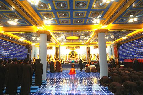 石室禅院启建戊戌年药师法门许愿结名专修大法会