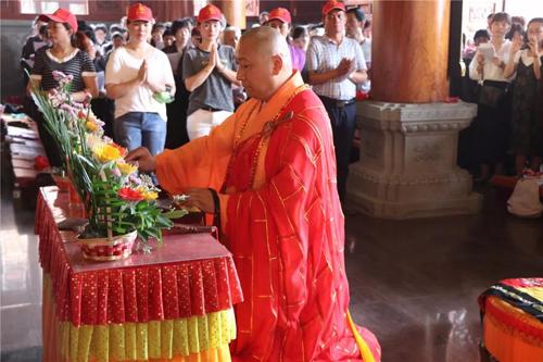 梵天禅寺戊戌年四月初八浴佛法会圆满