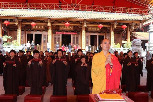 梵天禅寺己亥年新春万佛法会第二天
