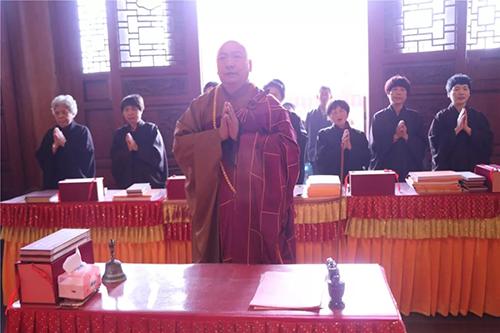 梵天禅寺己亥年新春万佛法会第七天