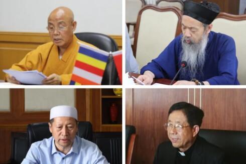 全国性宗教团体联席会议:大力弘扬抗疫爱国精神